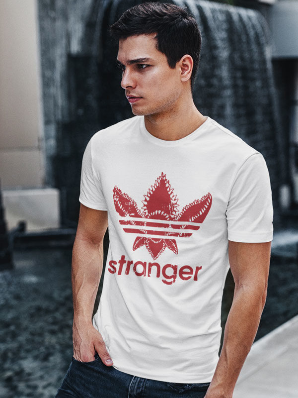 camiseta stranger things adidas adulto