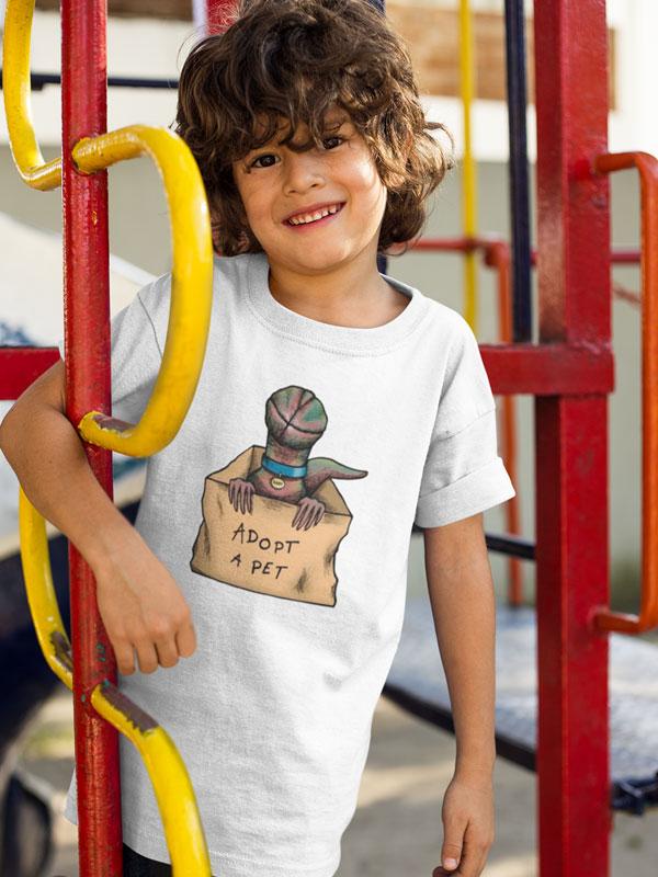 camiseta stranger things demogorgon infantil