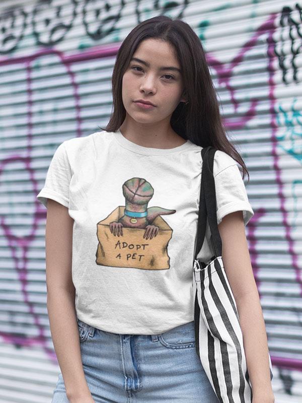 camiseta stranger things demogorgon unisex