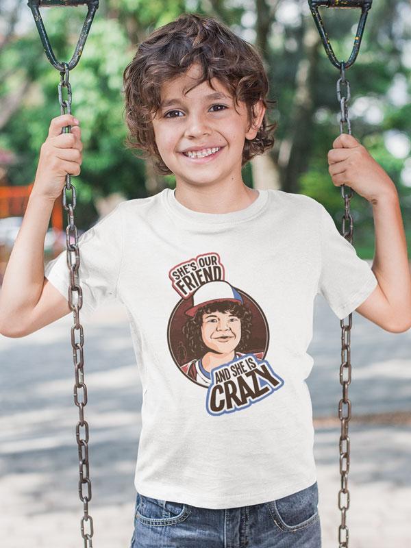 Camiseta Stranger Things Dustin