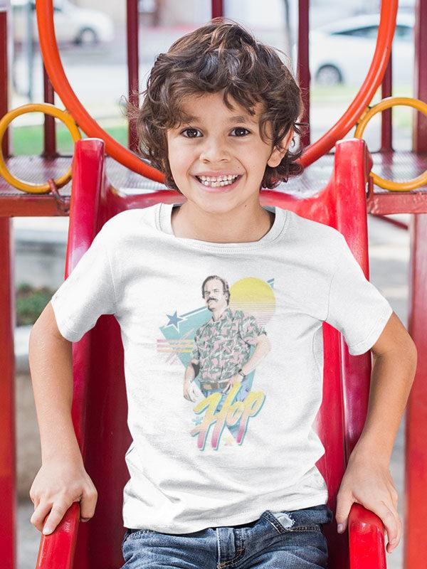camiseta stranger things hopper infantil