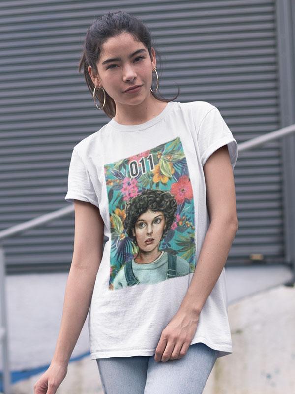 camiseta stranger things once unisex