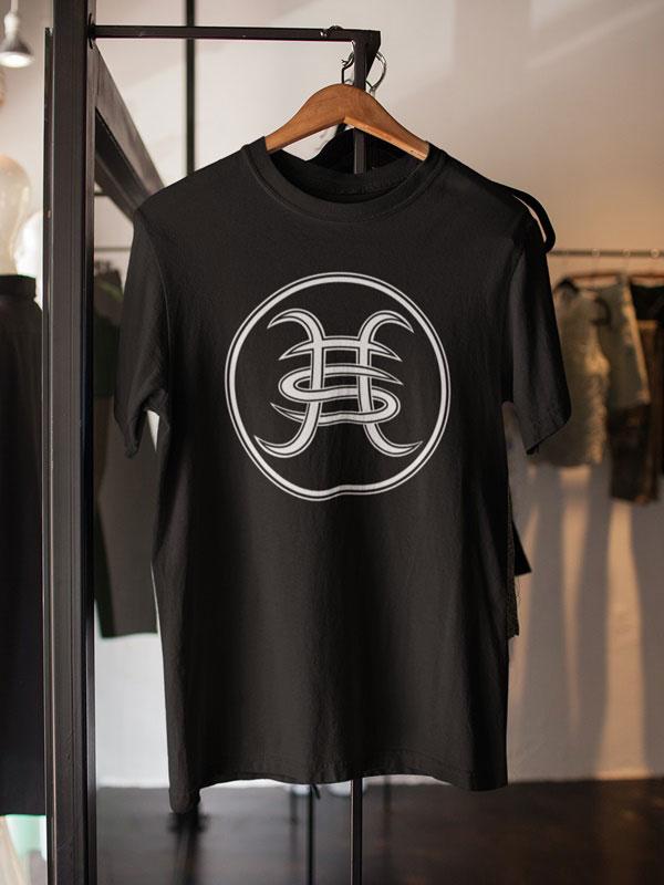 camiseta unisex de heroes del silencio logo