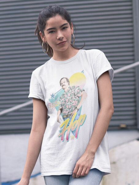 camiseta unisex stranger things hopper