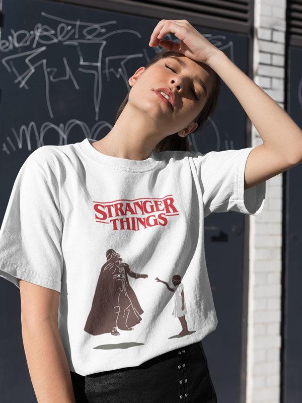 camiseta unisex stranger things la fuerza de eleven