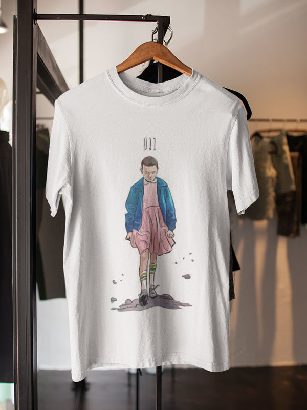 camisetas de stranger things eleven