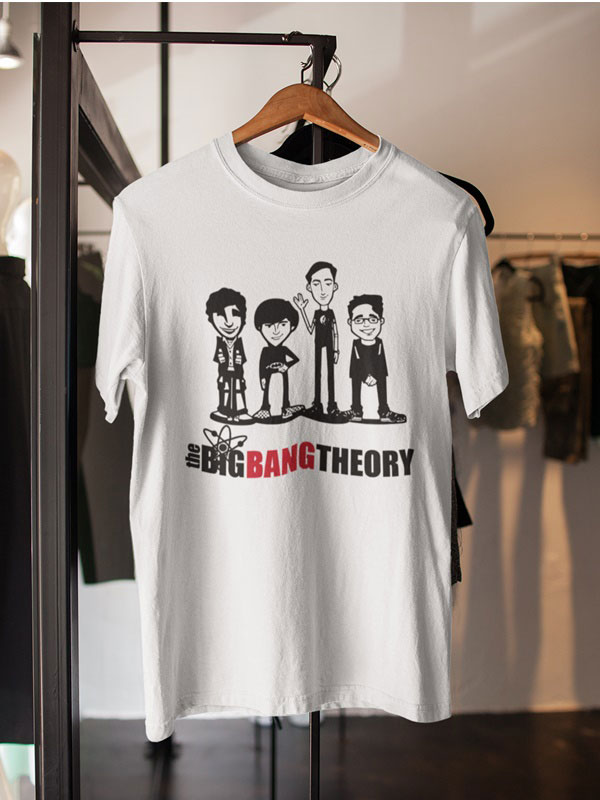 camisetas de the big bang theory