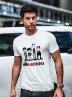 camisetas de the big bang theory adulto