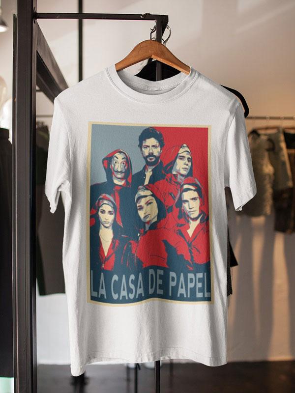 camisetas la banda la casa de papel