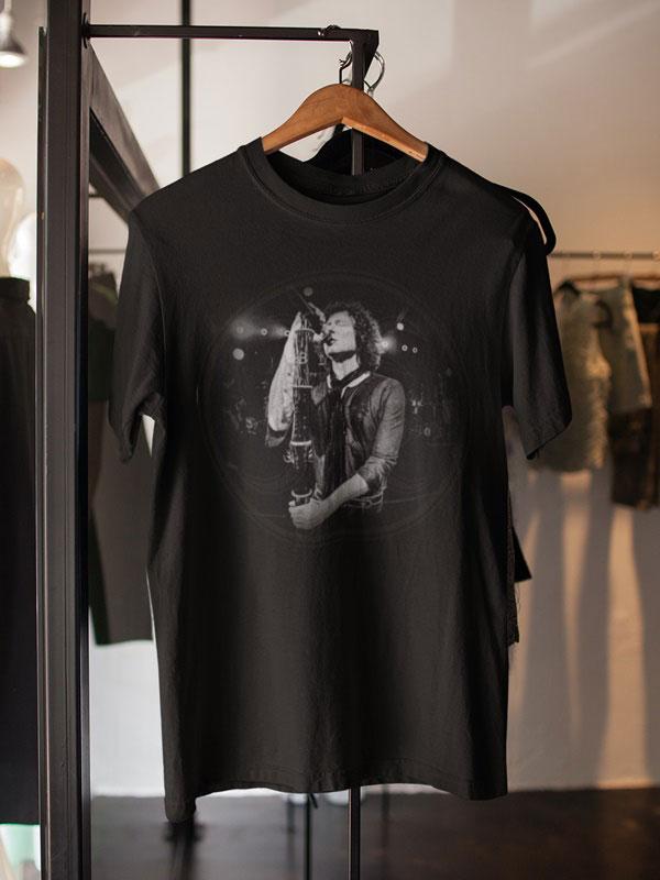 camisetas negras heroes del silencio unisex