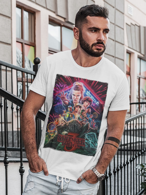 camisetas stranger things 3 adulto