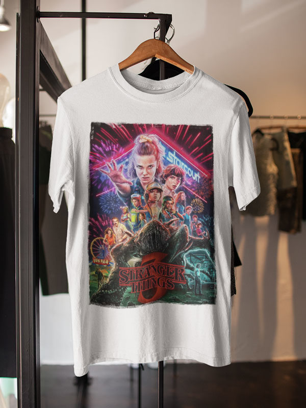 camisetas stranger things 3 unisex