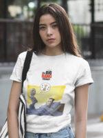 camisetas the big bang theory dulce gatito unisex