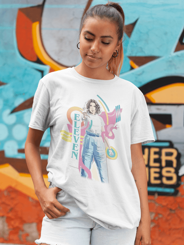 camisetas unisex eleven colors stranger things