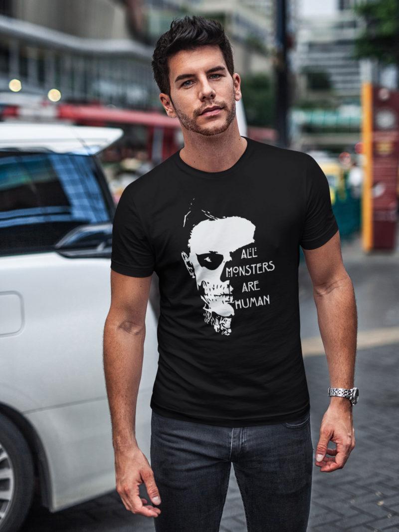 damiseta all monsters are human