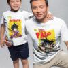 kit camisetas dragon ball padre e hijo