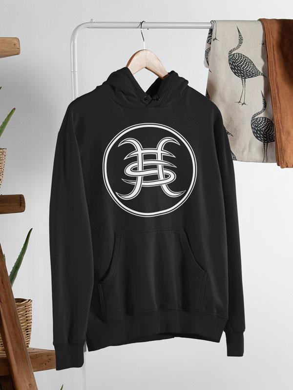 sudadera capucha heroes del silencio logo