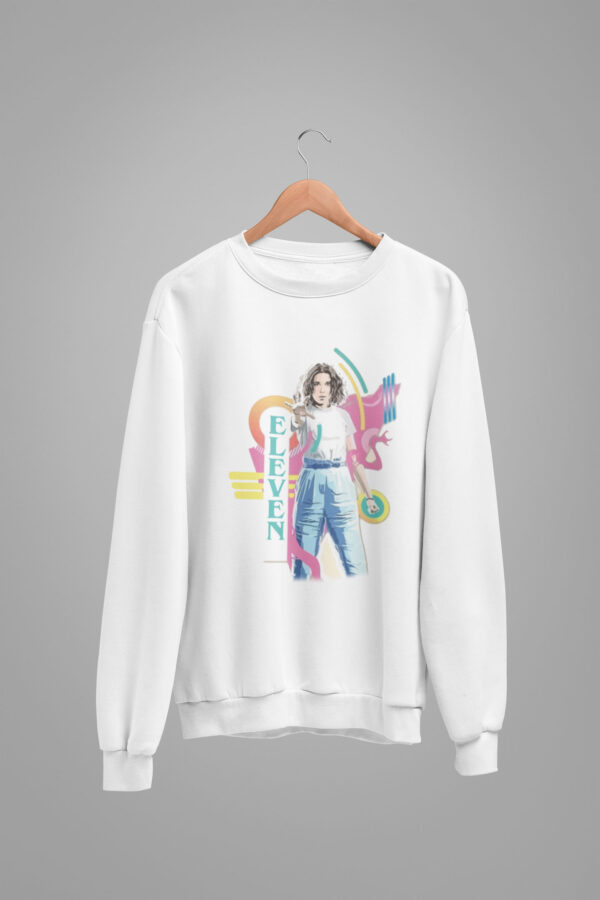 sudadera eleven colors stranger things