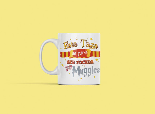 taza harry potter muggles