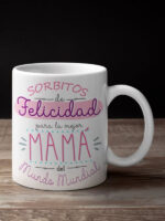 taza personalizada día de la madre