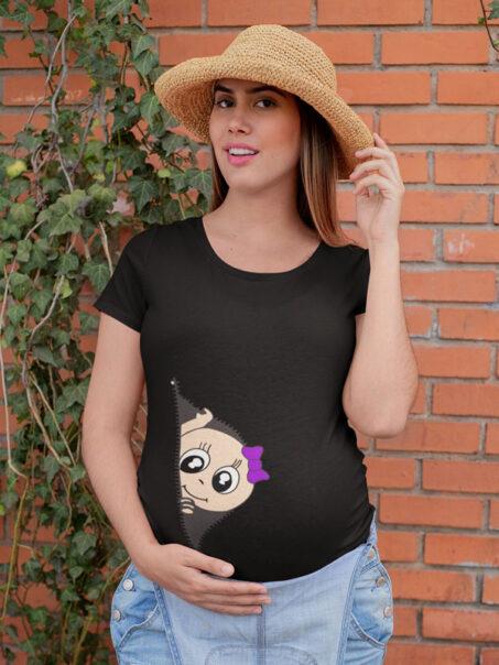 Camiseta embarazada graciosa