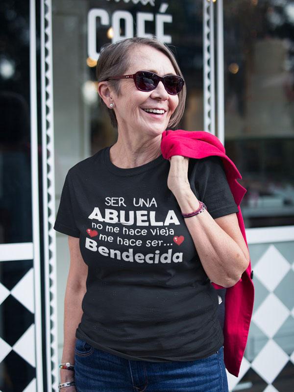 Camiseta abuela