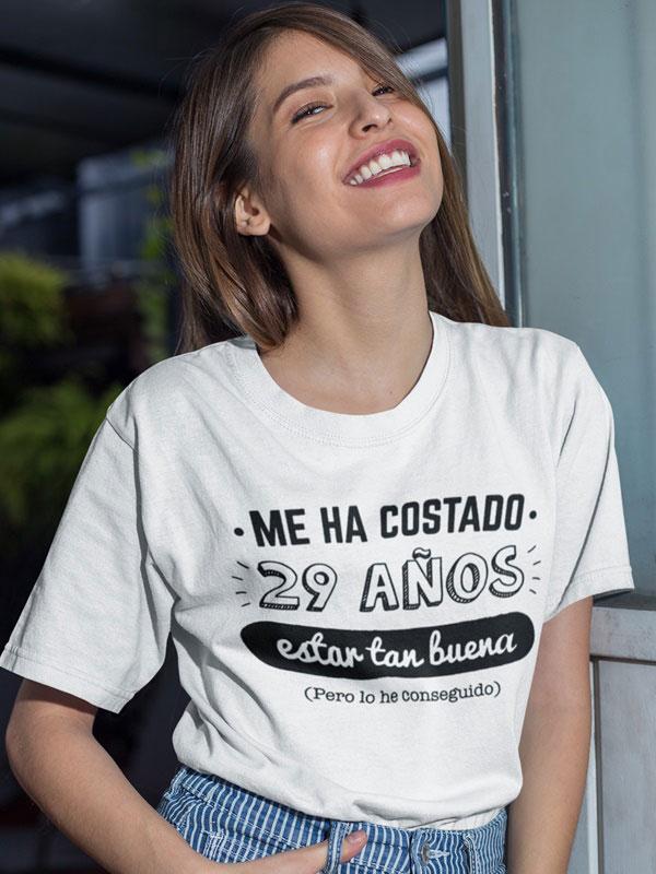 camiseta anos personalizados