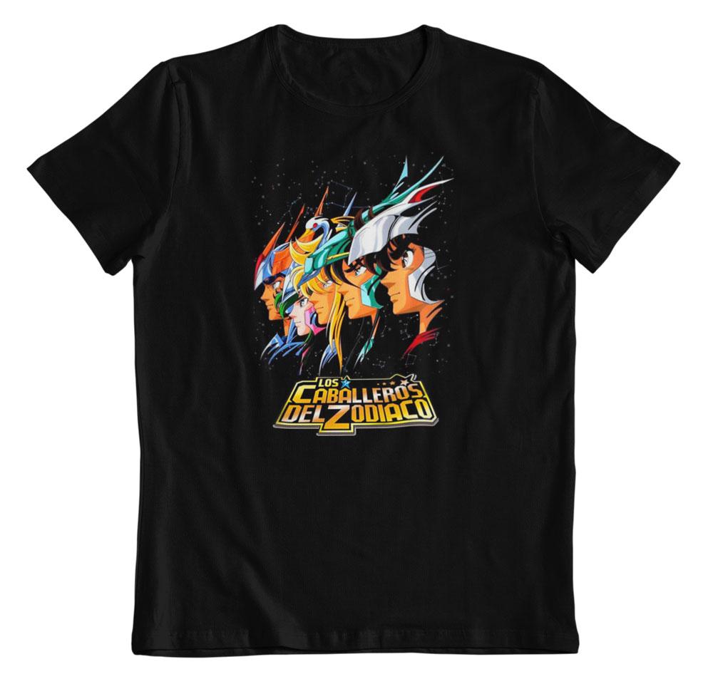 Camiseta Caballeros del Zodiaco a la batalla
