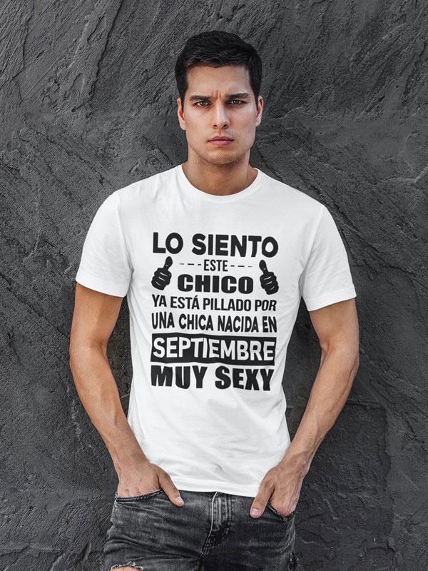 camiseta con frases graciosas septiembre