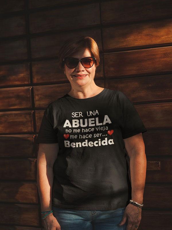 Camiseta de abuela