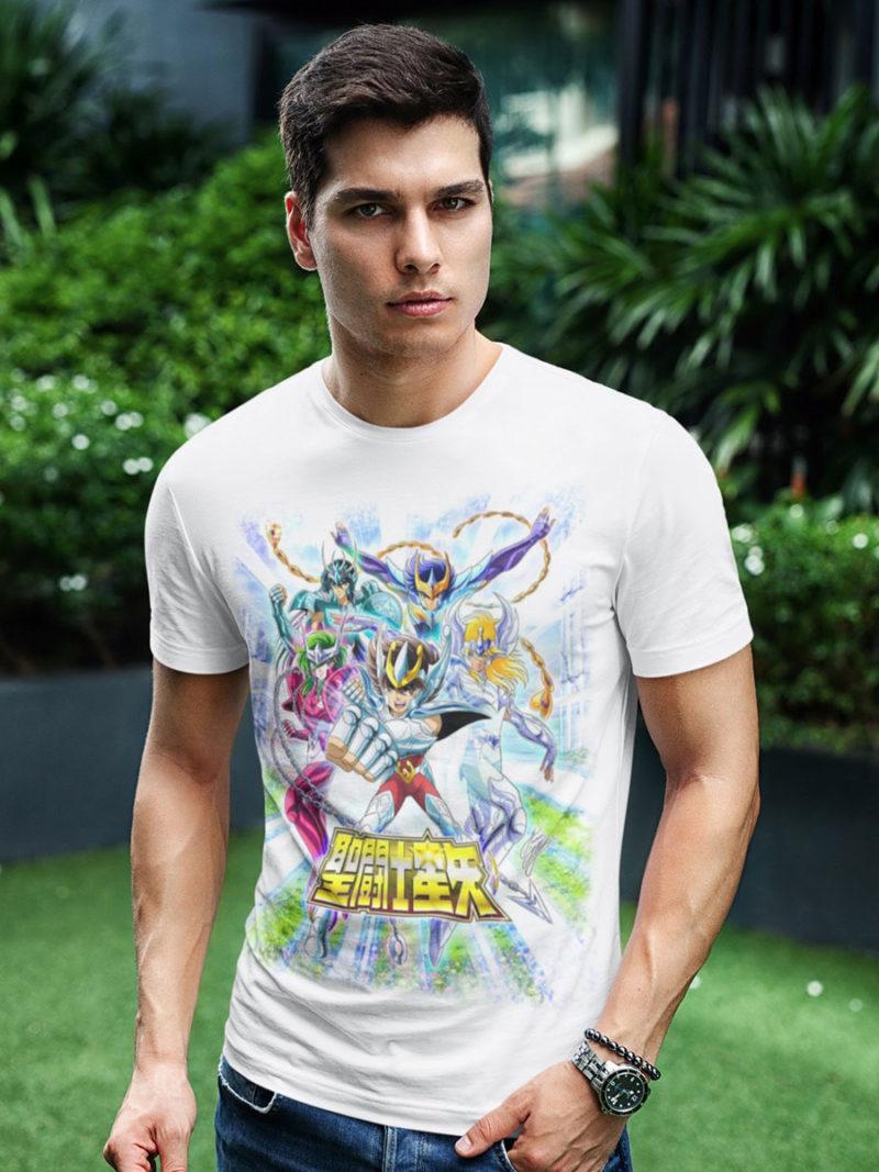 Camiseta de Los Caballeros del Zodiaco