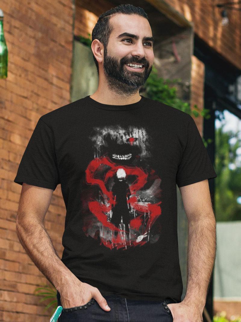 camiseta de tokyo ghoul