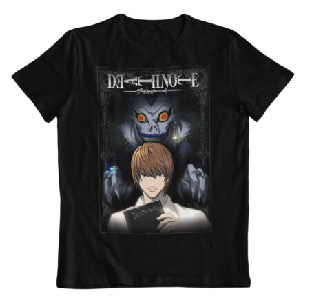Camiseta Death Light Yagami