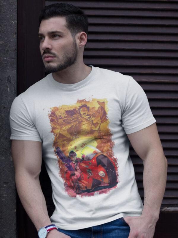 Camiseta del anime Akira