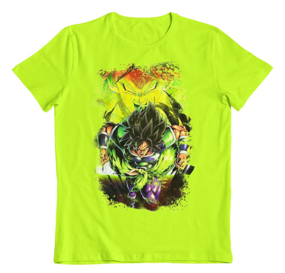 Camiseta Dragon Ball Super Broly attack