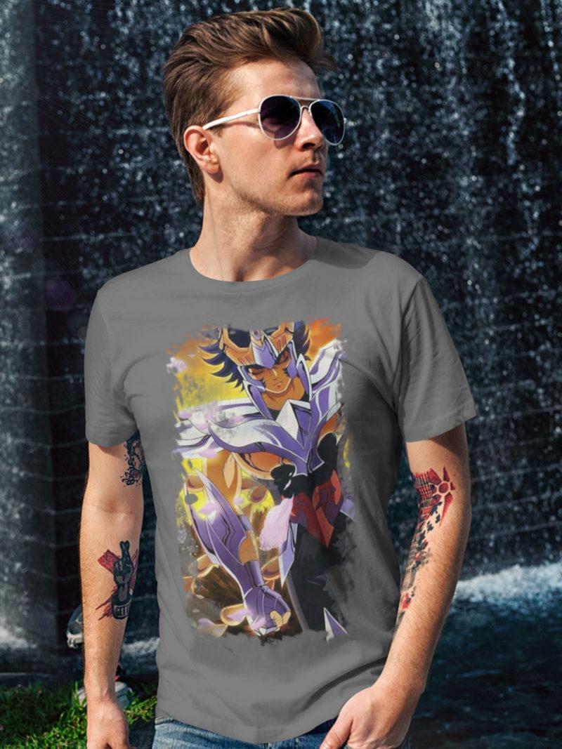 Camiseta Ikki de Phoenix gris