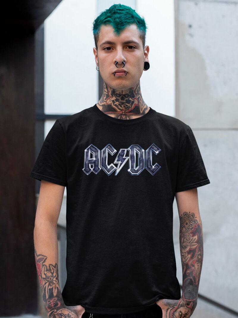 camiseta logo acdc