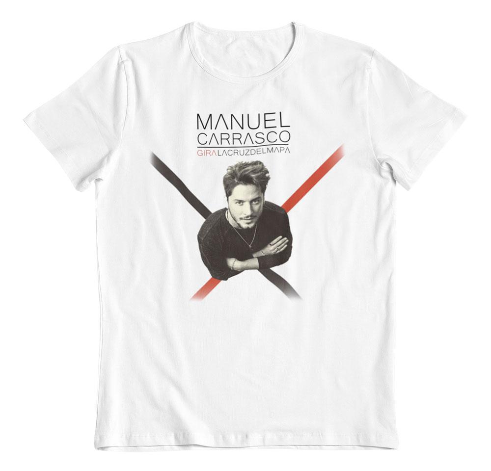 Camiseta Manuel Carrasco La cruz del mapa
