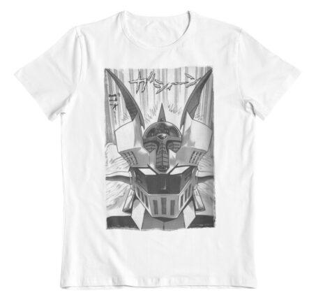 Camiseta Mazinger Z estilo manga