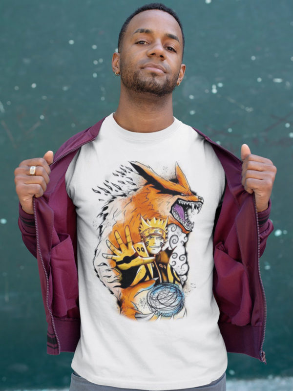 Camiseta Naruto wolf