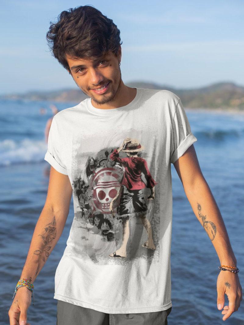 Camiseta One Piece el pirata