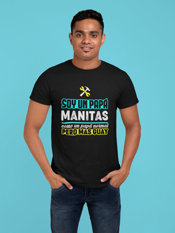 camiseta papa manitas