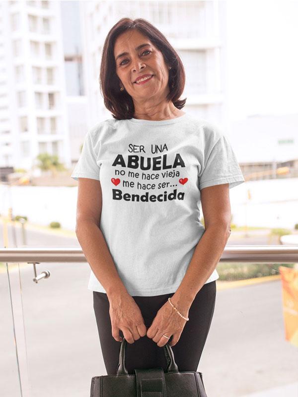 Camiseta para abuela