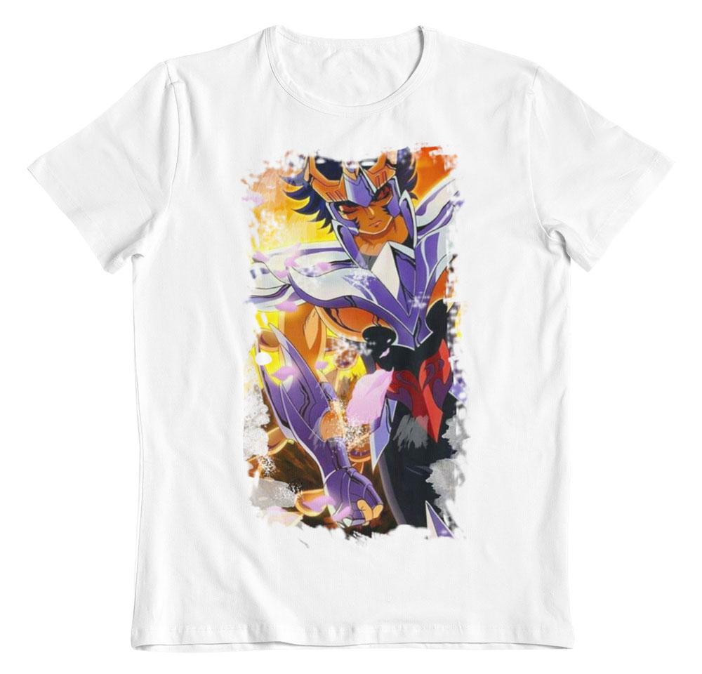 Camiseta Saint Seiya Ikki de Phoenix blanco