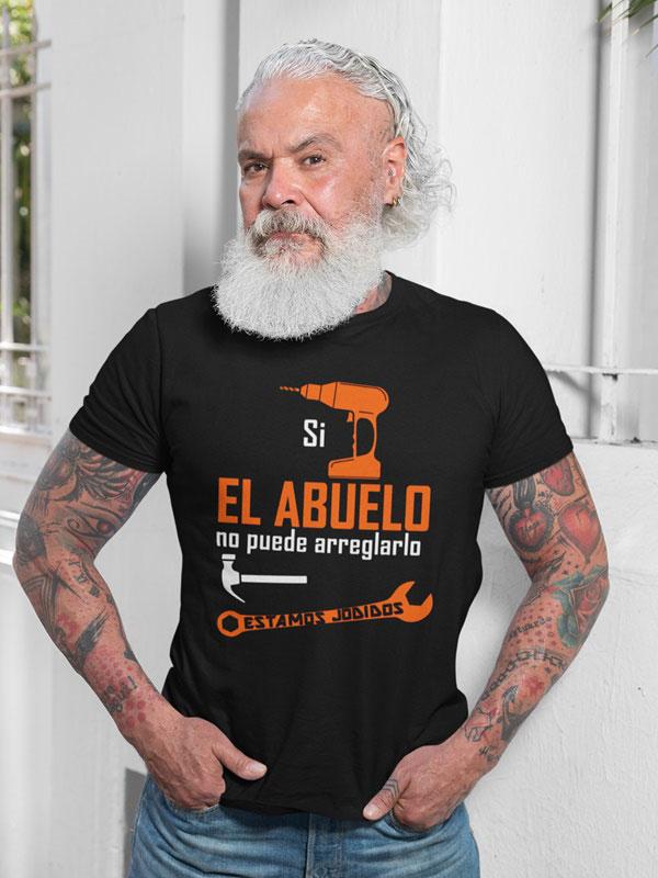 camiseta si el abuelo no puede arreglarlo