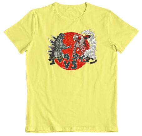 Camiseta Ataque a los Titanes limon