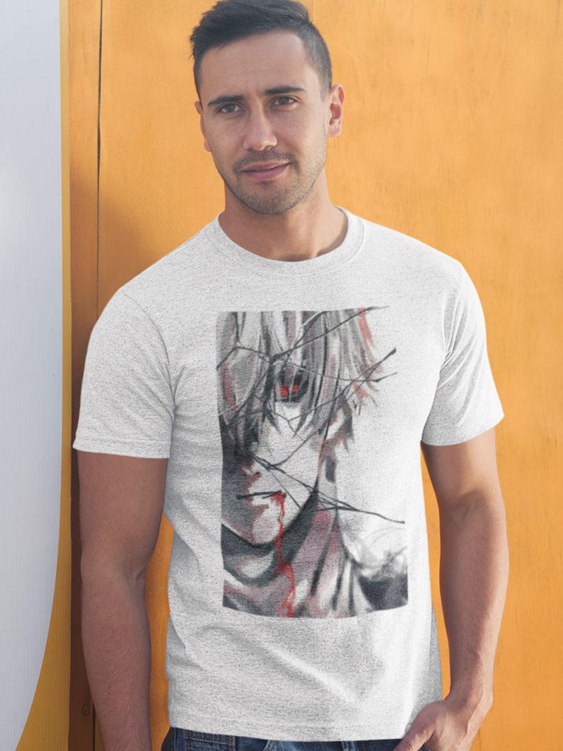 camiseta tokyo ghoul crystal