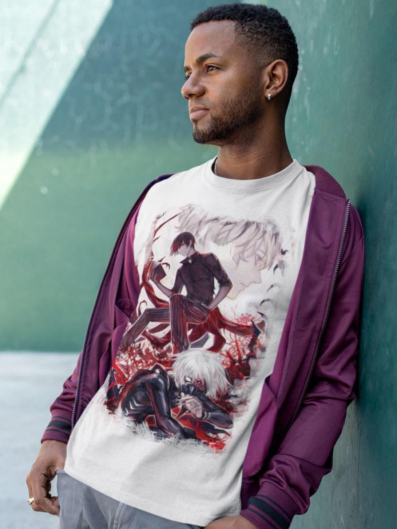 camiseta tokyo ghoul madness