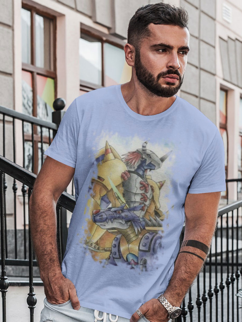 Camiseta Wargreymon y Metalgarurumon