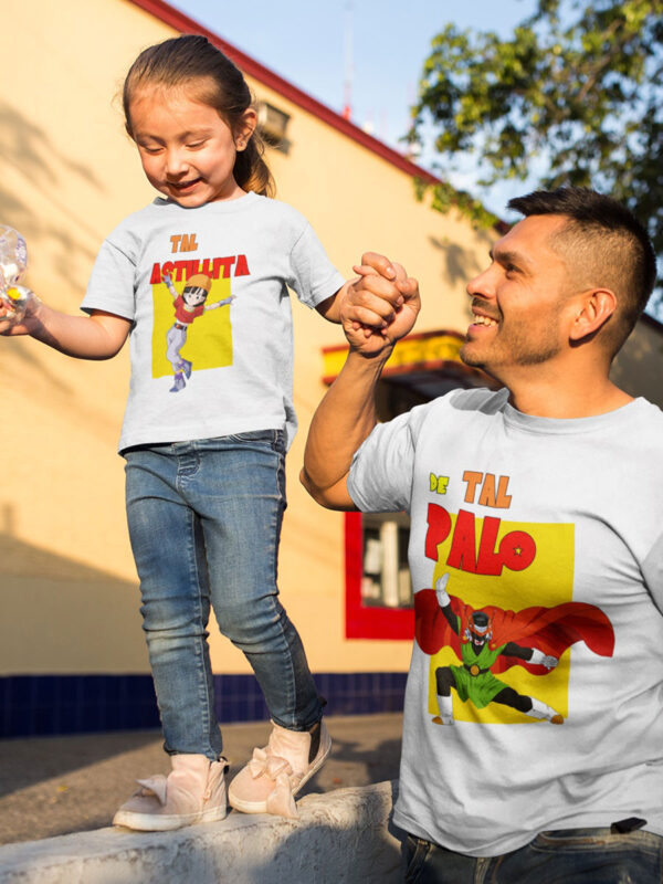 Kit camisetas padre e hija Gohan y Pan